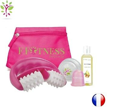 rouleau anti cellulite KINEA ROLL ROSE massage Traitement minceur peau d'orange