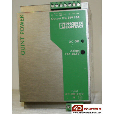 Phoenix Contact QUINT-PS-100-240AC/24DC/10 Power Supply - Used