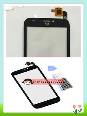 New Touch Screen Digitizer Glass  Replacement For M4 SS1070 Black + Tools zhang