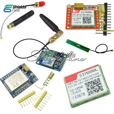 SIM800L Mini A6 GPRS GSM V2.0 5V Wireless GSM GPRS MODULE Quad-Band+Antenna