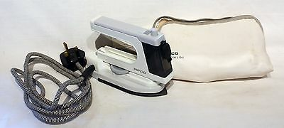Pifco Worldwide Non-Stick Steam Travel Iron  USED ONCE