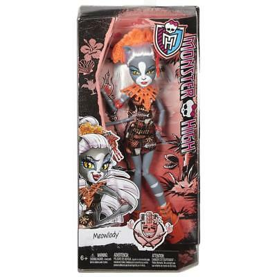 Monster High Ghouls' Getaway - Meowlody Doll - DKX96 - New