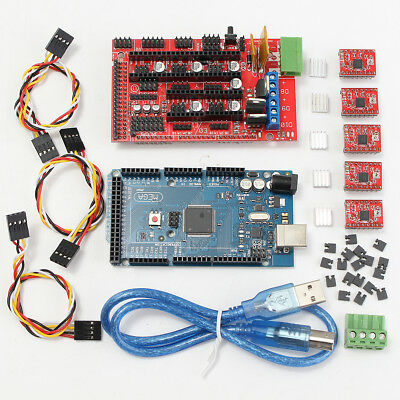 3D Printer Controller RAMPS 1.4 + Mega2560 + 5x A4988 Kit For Arduino Reprap AU