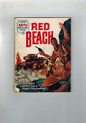 BATTLE PICTURE LIBRARY No.54 Red Beach (comic) 1962