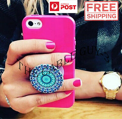 Popsockets Mobile iPhone iPad Smartphone Tablet Car Mount Holder Stand Grip