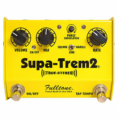 Fulltone Supa Trem 2 Custom Shop Brand New ** Next Day Delivery **
