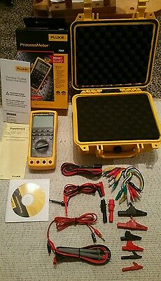 Fluke 789 Processmeter plus hard case and accessories kit.   All BRAND NEW!