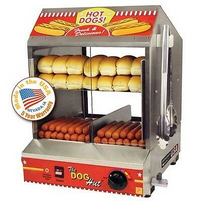 Paragon 8020 Dog Hut Hot Dog Steamer NEW