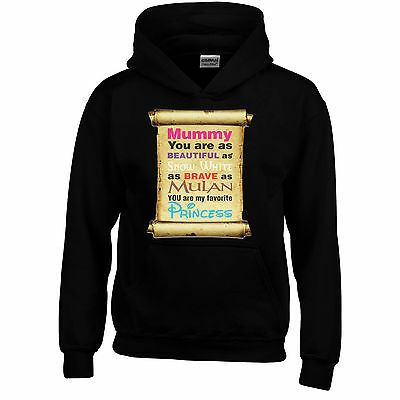 Princess Story Mothers Day Funny Hoodie