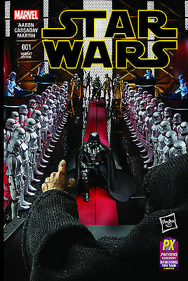 Star Wars #1 Hasbro Special Previews Exclusive Limited Variant Cover Marvel 2015