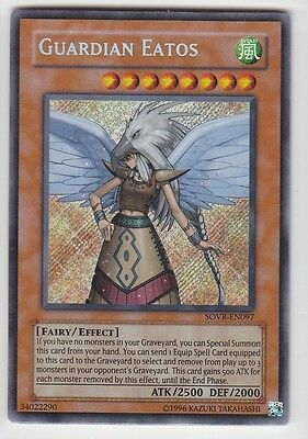YU-GI-OH Guardian Eatos Secret Rare englisch SOVR-EN097 Wächter Eatos