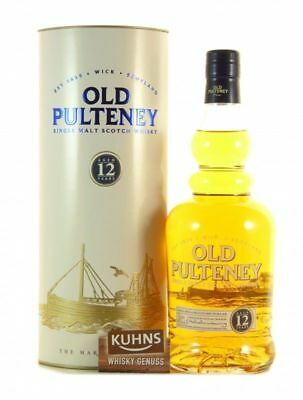 Old Pulteney 12 Jahre Highland Single Malt Scotch Whisky 0,7l, alc. 40%