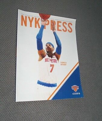 NBA : New York Knicks 2015 / 16 NYK Press Programme / Magazine