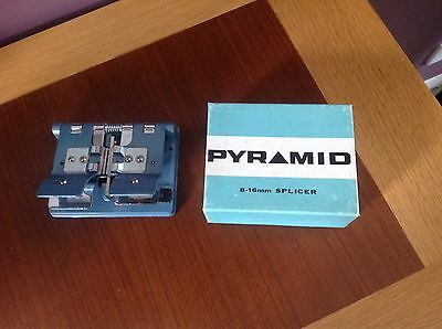 Cine film splicer PYRAMID 8mm & 16mm BOXED