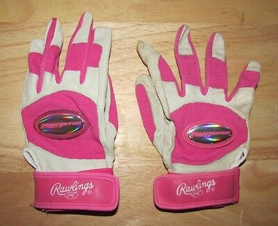 Rawlings Fast pitch battiing glove pr women/girl small? Medium? right used more