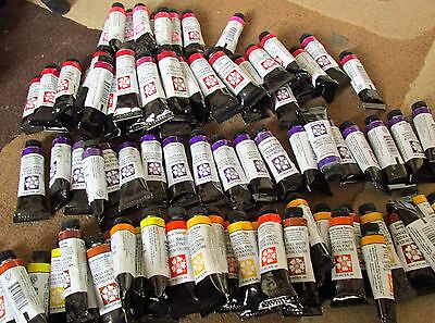 Daniel Smith 15ml watercolour, Red/Pink/Purple colours. Free UK post.