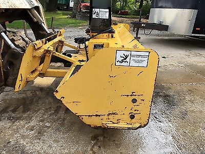 Erskine Snowblower Skid Steer Attachment 72""