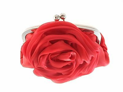 Bella Collection Red Satin Evening Clutch, #59Sf