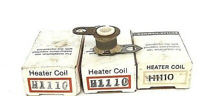 Lot Of 3 New Cutler Hammer H1110 Overload Thermal Unit Heating Elements