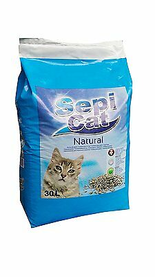 Sepicat Lightweight Non Clumping Cat Litter, 30 L * Brand NEW * Fast Delivery