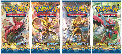 Pokemon TCG Breakpoint 5 Booster Packs New Sealed Trading Cards 10/packet
