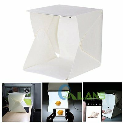 Light Room Photo Studio Photography Lighting Tent Kit Backdrop Cube Mini Box【AU】
