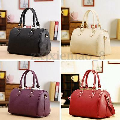 Women Leather Shoulder Handbag Messenger Ladies Satchel Tote Shopping Bag Purse