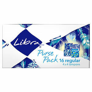 Libra Tampons Regular Purse Pack 16 NEW Cincotta Chemist