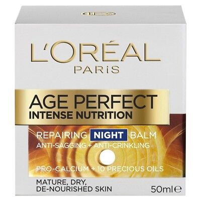 Loreal Age Perfect Intense Nutrition  Night 50ML NEW