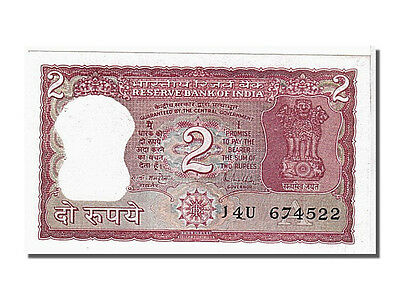 [#104683] India, 2 Rupees, KM #53a, UNC(65-70), 674522
