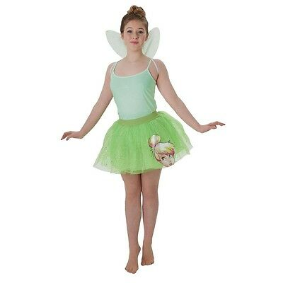 Tinker Bell Tutu and Wings Set, Kids Fancy Dress Styling Accessories