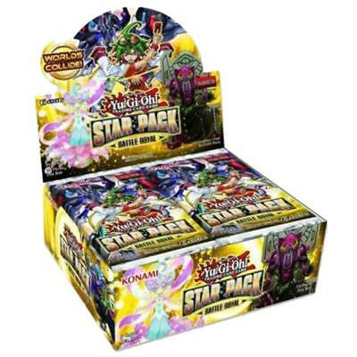 KONAMI YU-GI-OH! TCG Star Pack Battle Royal 2017 Booster Box - 50 Boosters