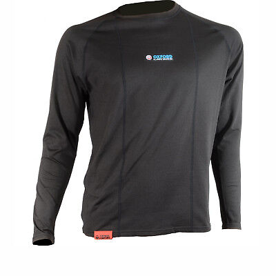 Oxford Layers Warm Dry Long Sleeve Men's Top Motorbike Thermal Base Layer Shirt