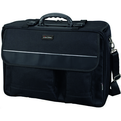 LIGHTPAK Boardcase THE FLIGHT Laptoptasche Bordgepäck Polyester schwarz 46008