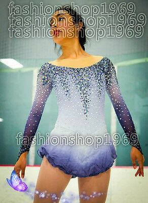 New style  Ice Figure Skating Dress  Baton Twirling Dress  For Competitio xx254