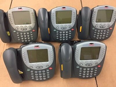 Avaya 4621SW IP Office VoIP Business Telephone Lot of 5