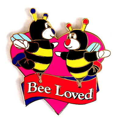 """BALLON """"SPECIAL SHAPE"""" Pin / Pins - LITTLE BEES """"BEE LOVED"""" [3806]"""