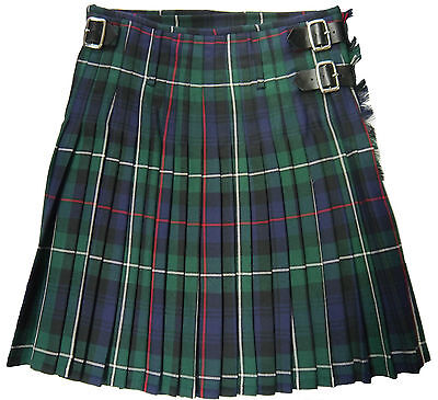 Wool Kilt Mens Scottish MacKenzie Tartan 100% Wool 16oz