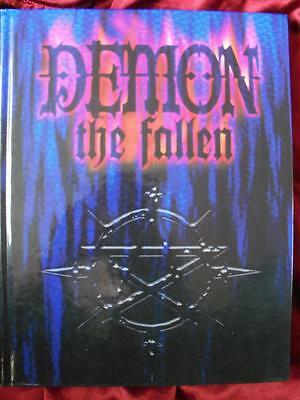 VERY RARE - DEMON THE FALLEN CORE RULEBOOK Roleplaying Game RPG OOP White Wolf