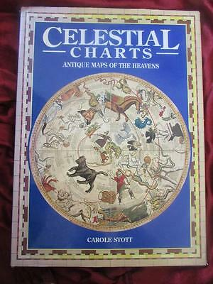 CELESTIAL CHARTS - ANTIQUE MAPS OF THE HEAVENS. Very large book. Rare & OOP