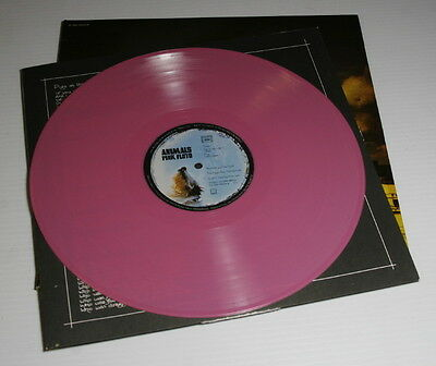 Pink Floyd – Animals – Pink LP – Copyright 1977 – EMI – Harvest – Made in France