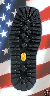 VIBRAM KLETTERLIFT Unit 148 RUBBER SOLE 1 PAIR NEW SHOE REPAIR BLACK SZ 10