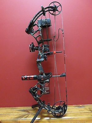 New 2017 Pse Infinity Rh 50-70# Rts Bow Package New Skullworks 2 Camo 325 Fps