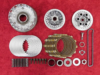 COMPLETE CLUTCH KIT 03-05 YZF-R6 YZFR6 * 06-09 R6S OEM YAMAHA basket & plate set