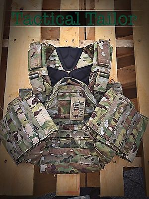 Tactical Tailor Fight Light Plate Carrier, Multicam, New, Small