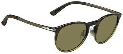 1b471735996 GUCCI DARK BROWN Tortoise Frame Green 58mm Lens Sunglasses GG0017 SA ...