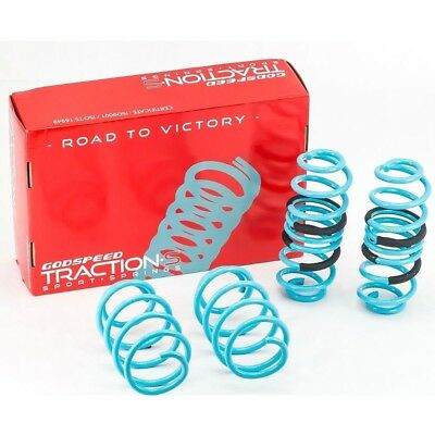 Godspeed Traction-S Lowering Springs For Audi A3 2006-13(8P)