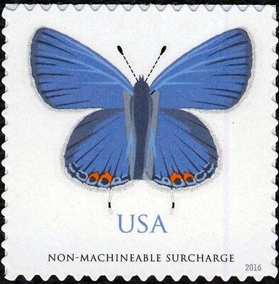 2016 68c Eastern Tailed-Blue (Butterfly) Non-machineable Scott 5136 Mint F/VF NH