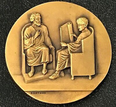 Belgium Bronze Medal / 75th Ann. of Commercial Institute of Brussels N123