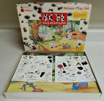 Disney 101 Dalmatians Colorforms Deluxe Play Set Scene Stick-Ons